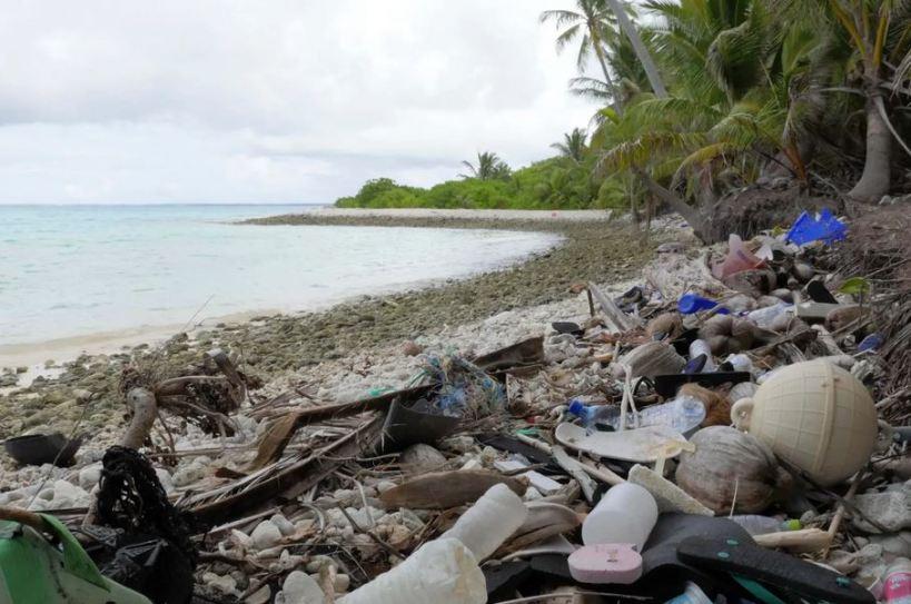 cocos islands plastic