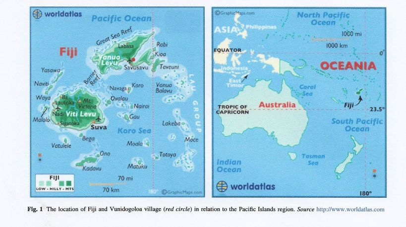 fiji maps