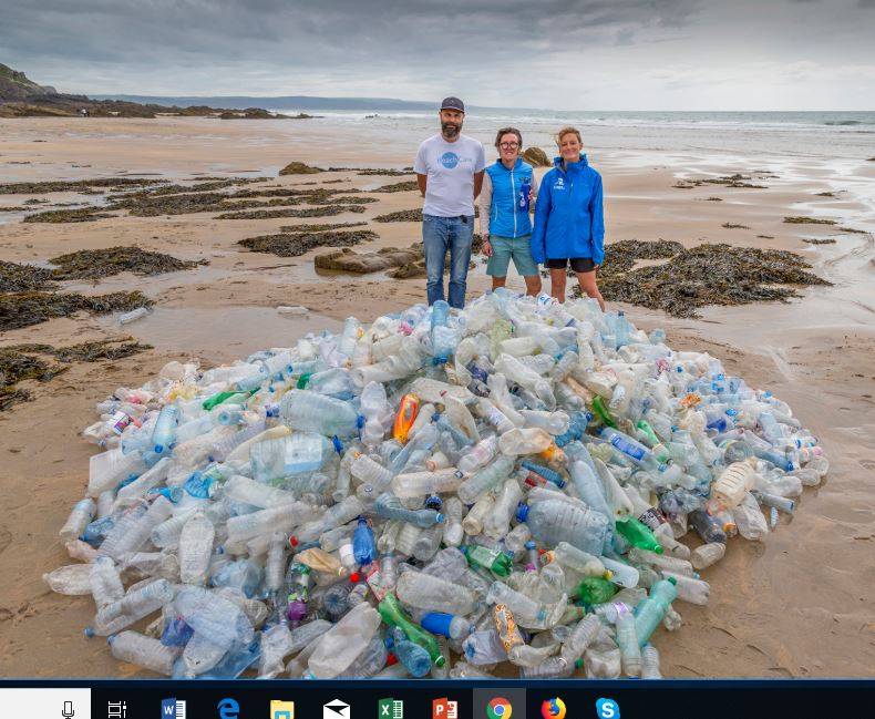 Plastic in Cornwall