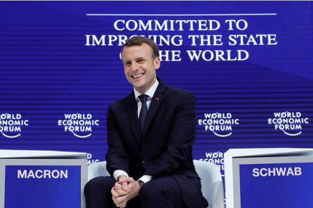 Macron-a-Davos-France-is-back