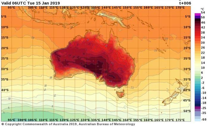 australia heatwave