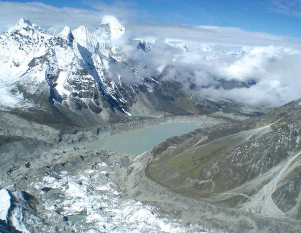 glacierHimlayas
